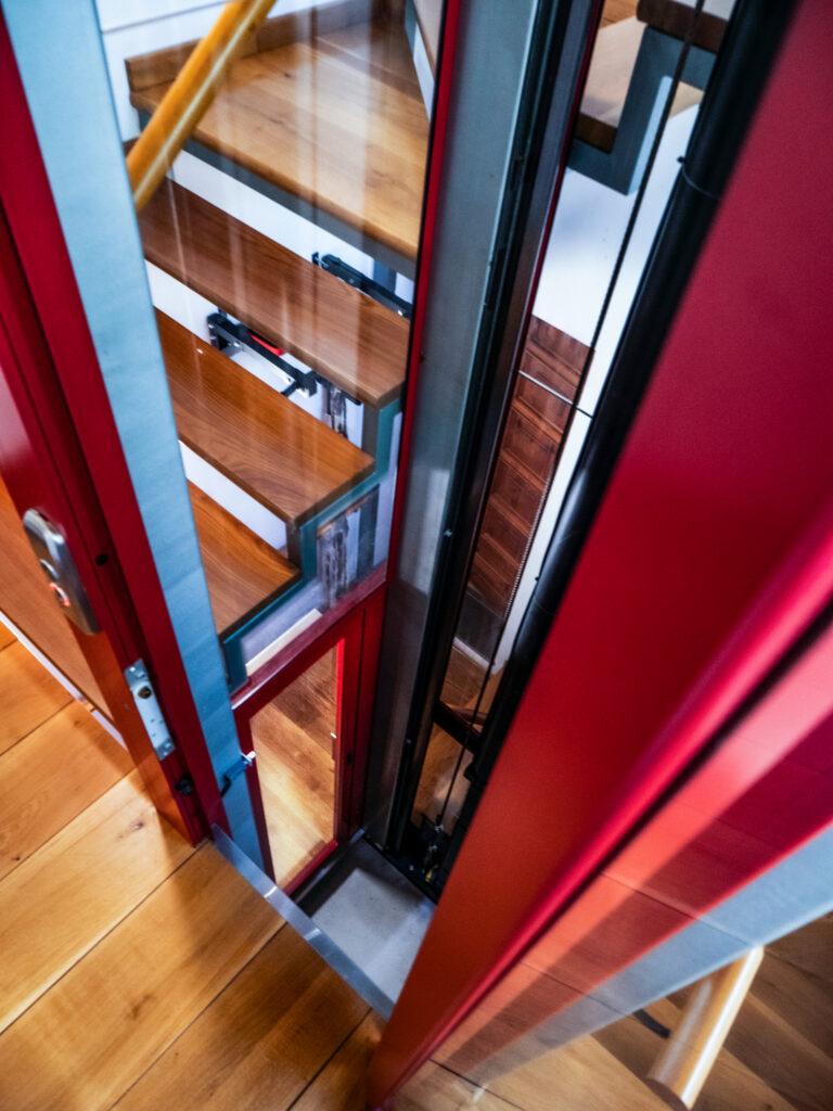 mini ascensore, con occhio al design!